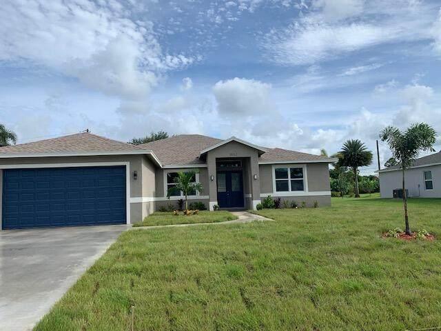 1982 SW Yellowtail Avenue, Port Saint Lucie, FL 34953 (MLS #RX-10745820) :: Berkshire Hathaway HomeServices EWM Realty