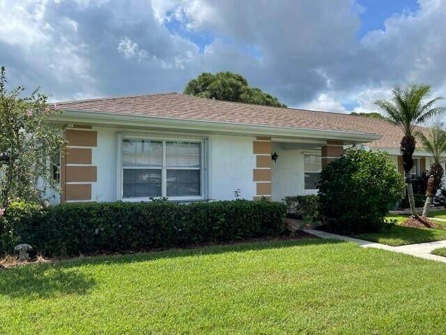 1013 Pheasant Run Drive A, Fort Pierce, FL 34950 (MLS #RX-10746513) :: Castelli Real Estate Services
