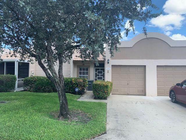 9161 Fairbanks Lane #2, Boca Raton, FL 33496 (#RX-10746524) :: Baron Real Estate