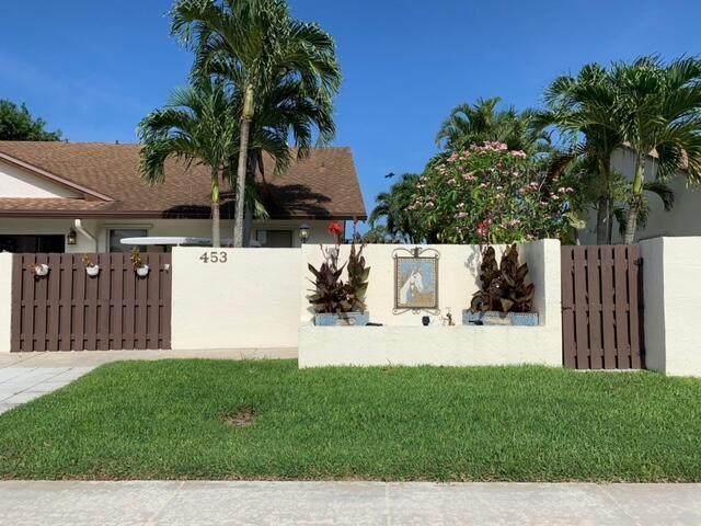 453 SW 28th Avenue, Delray Beach, FL 33445 (#RX-10748560) :: Baron Real Estate