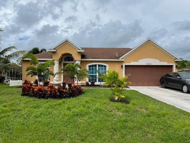 3330 SW Mundy Street, Port Saint Lucie, FL 34953 (#RX-10749050) :: Posh Properties