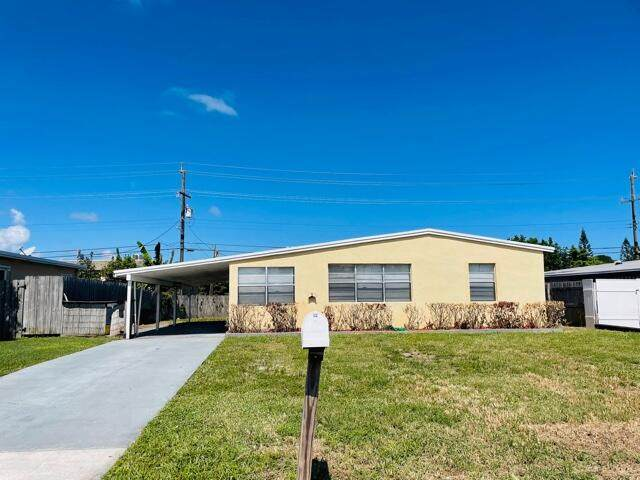 3118 French Avenue, Lake Worth, FL 33461 (MLS #RX-10752148) :: Castelli Real Estate Services