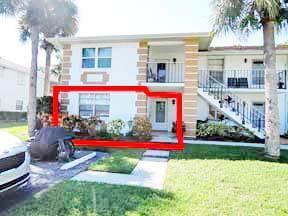 1221 S Lakes End Drive Apt A-1, Fort Pierce, FL 34982 (#RX-10753583) :: Baron Real Estate