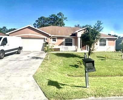 2371 SW Blaine Terrace SW, Port Saint Lucie, FL 34953 (MLS #RX-10753749) :: Dalton Wade Real Estate Group