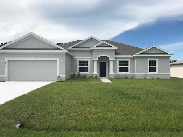 5831 NW Begonia Avenue, Port Saint Lucie, FL 34986 (MLS #RX-10545586) :: Berkshire Hathaway HomeServices EWM Realty