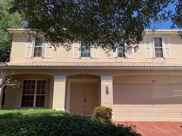220 Lone Pine Drive, Palm Beach Gardens, FL 33410 (#RX-10618417) :: Ryan Jennings Group