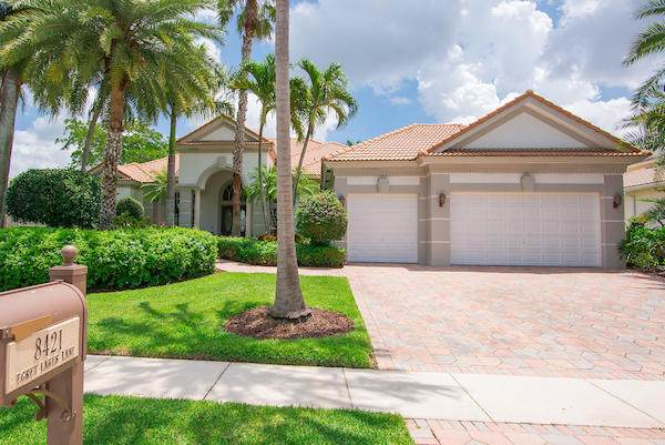 8421 Egret Lakes Lane, West Palm Beach, FL 33412 (MLS #RX-10624810) :: The Jack Coden Group