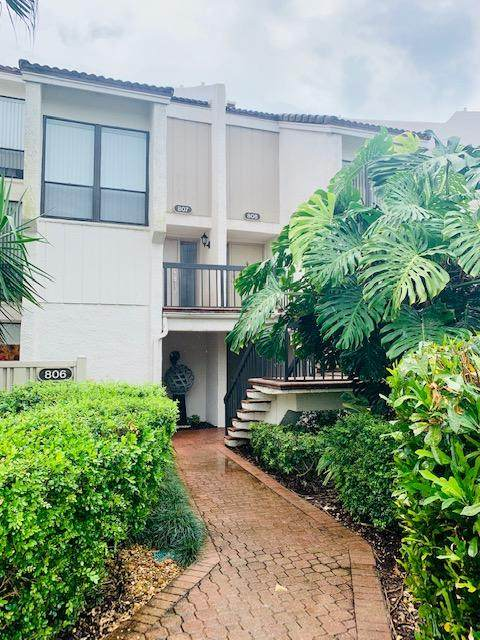 807 Bridgewood Place #807, Boca Raton, FL 33434 (#RX-10632651) :: Posh Properties