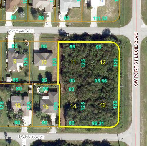 810 SW Haas Avenue, Port Saint Lucie, FL 34983 (MLS #RX-10674488) :: The Jack Coden Group