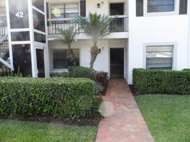 42 Stratford Lane F, Boynton Beach, FL 33436 (#RX-10680768) :: Realty One Group ENGAGE