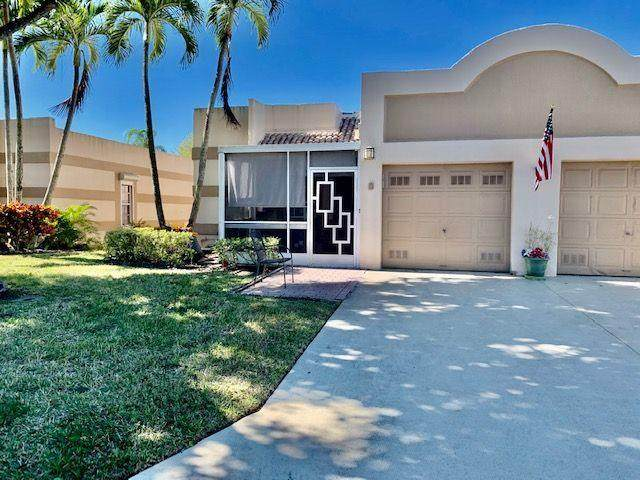 19000 Stewart Circle #8, Boca Raton, FL 33496 (MLS #RX-10687662) :: The Paiz Group