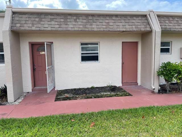 400 Bonnie Boulevard #152, Palm Springs, FL 33461 (MLS #RX-10721636) :: Castelli Real Estate Services