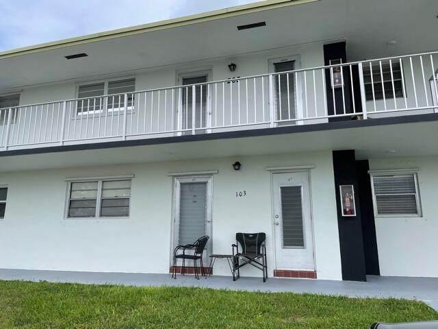 1113 Lake Terrace #103, Boynton Beach, FL 33426 (#RX-10735095) :: Heather Towe   Keller Williams Jupiter