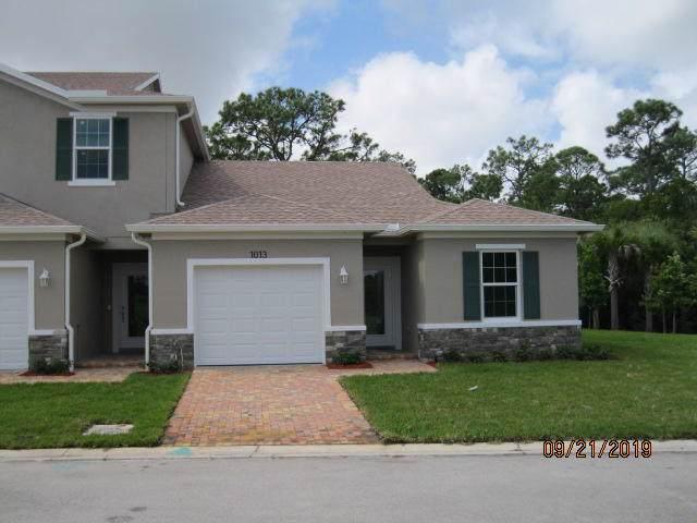 1013 NE Trailside Run, Port Saint Lucie, FL 34983 (MLS #RX-10522847) :: Berkshire Hathaway HomeServices EWM Realty