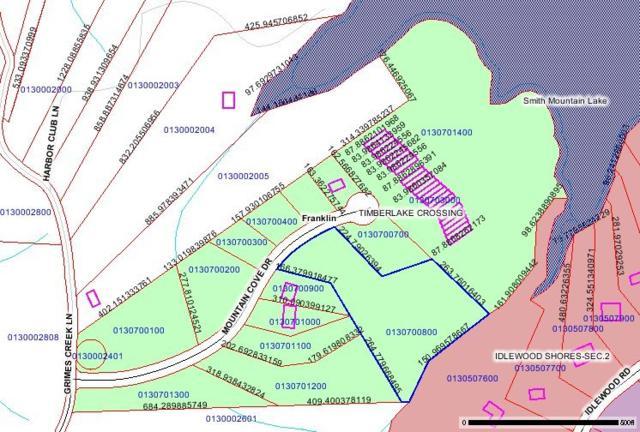 LOT 7 Mountain Cove Dr, Hardy, VA 24101 (MLS #781345) :: Five Doors Real Estate