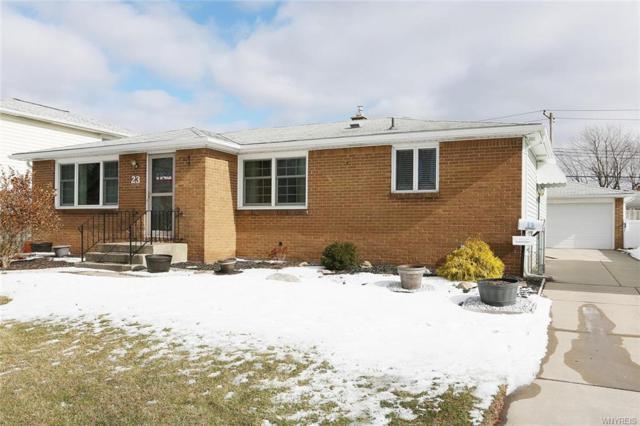 23 Paula Drive, Cheektowaga, NY 14225 (MLS #B1173723) :: BridgeView Real Estate Services