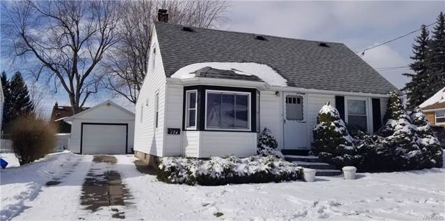 174 Bright Street, Cheektowaga, NY 14206 (MLS #B1173910) :: BridgeView Real Estate Services
