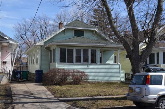 61 Comstock Avenue, Buffalo, NY 14215 (MLS #B1179967) :: Robert PiazzaPalotto Sold Team