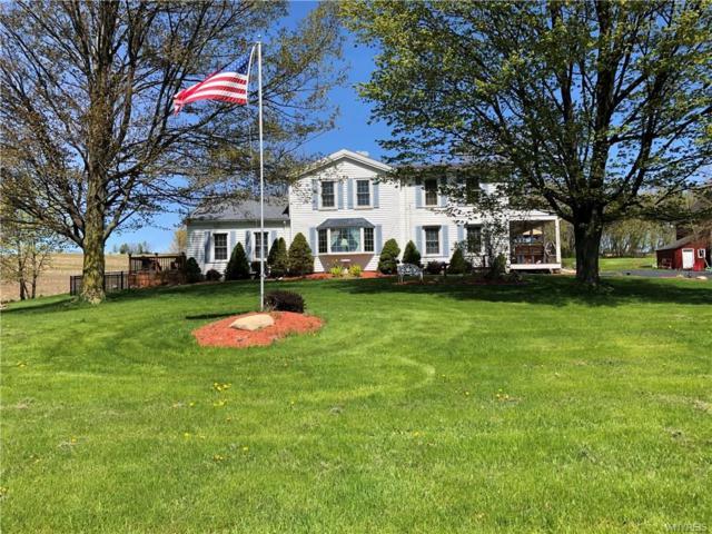 5743 Clinton Street Road Road, Bergen, NY 14416 (MLS #B1191757) :: The Glenn Advantage Team at Howard Hanna Real Estate Services