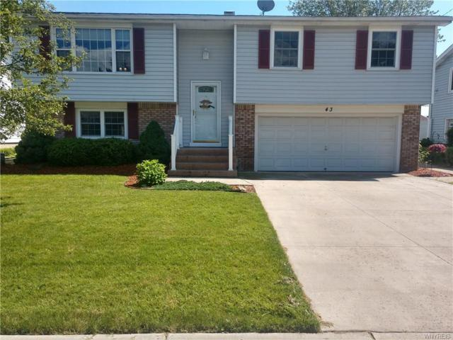 43 Joel Drive, Cheektowaga, NY 14043 (MLS #B1204246) :: The Glenn Advantage Team at Howard Hanna Real Estate Services