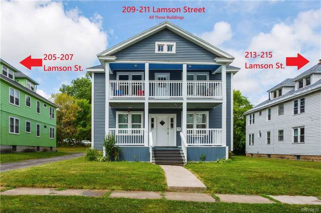 205, 209, 213 Lamson, Syracuse, NY 13206 (MLS #B1235436) :: BridgeView Real Estate Services