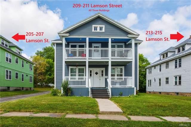 205, 209, 213 Lamson, Syracuse, NY 13206 (MLS #B1235436) :: MyTown Realty