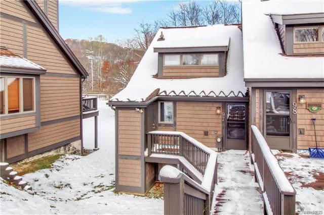 97 Brookline Rd-The Woods, Ellicottville, NY 14731 (MLS #B1240848) :: Robert PiazzaPalotto Sold Team