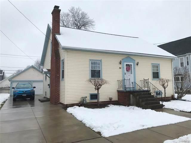 34 Stephenson Avenue, West Seneca, NY 14224 (MLS #B1251429) :: MyTown Realty
