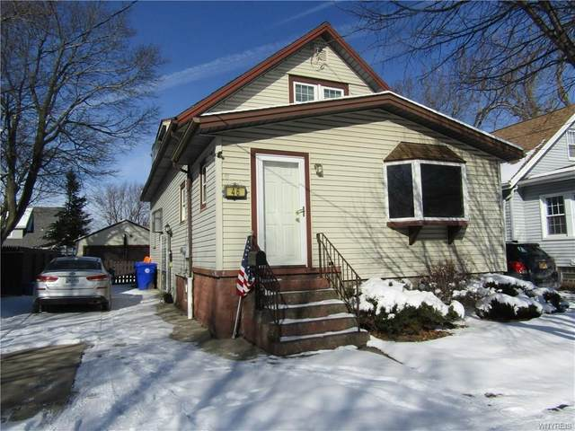 46 Tindle Avenue, West Seneca, NY 14224 (MLS #B1252185) :: Robert PiazzaPalotto Sold Team