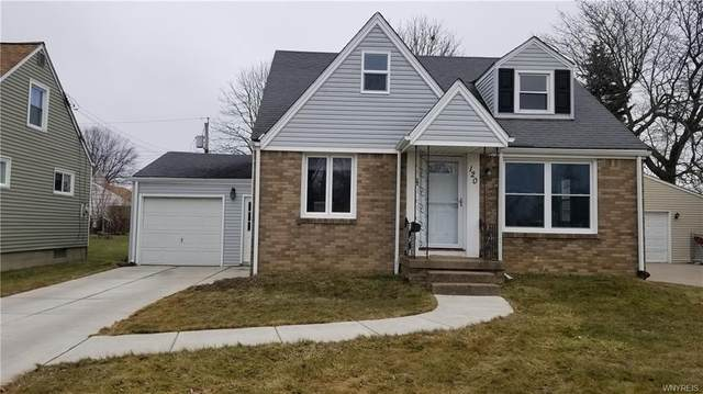 120 Sherwin Drive, Tonawanda-Town, NY 14150 (MLS #B1253249) :: BridgeView Real Estate Services