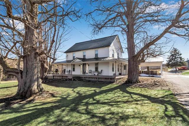 13105 Centerline Road, Wales, NY 14139 (MLS #B1256713) :: Lore Real Estate Services