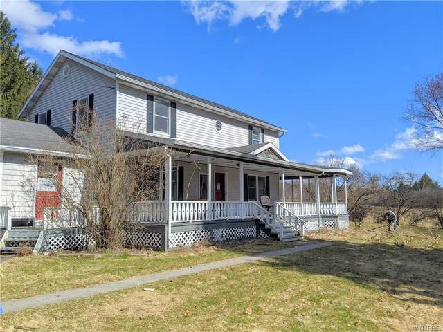 16 Golden Acres Drive, Angelica, NY 14709 (MLS #B1258573) :: Robert PiazzaPalotto Sold Team