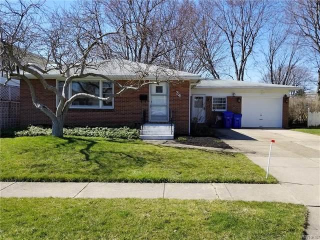 34 Leocrest Court, West Seneca, NY 14224 (MLS #B1258812) :: Robert PiazzaPalotto Sold Team