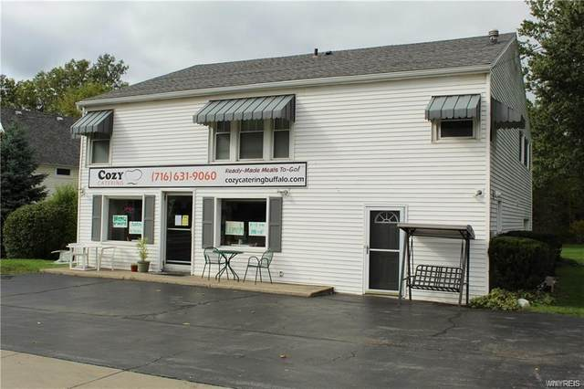 9830 Main Street, Clarence, NY 14031 (MLS #B1259417) :: Robert PiazzaPalotto Sold Team