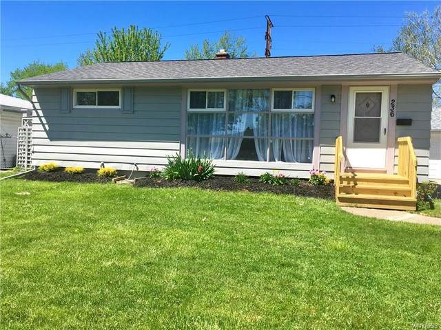 236 Newell Avenue, Tonawanda-Town, NY 14150 (MLS #B1267886) :: Lore Real Estate Services
