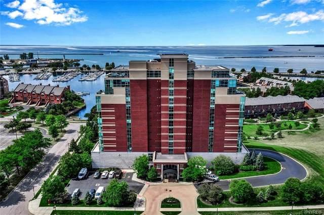 132 Lakefront Blvd #102, Buffalo, NY 14202 (MLS #B1286975) :: Robert PiazzaPalotto Sold Team
