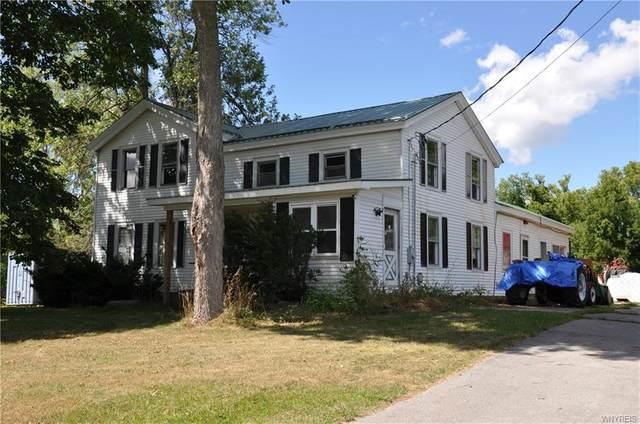 6029 N Byron Road, Byron, NY 14422 (MLS #B1287829) :: Lore Real Estate Services