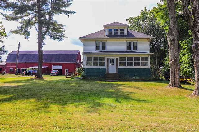 3011 Shirley Road, North Collins, NY 14111 (MLS #B1290370) :: Robert PiazzaPalotto Sold Team