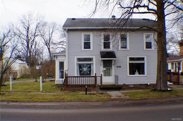 3608 Knowlesville Road, Ridgeway, NY 14479 (MLS #B1315622) :: TLC Real Estate LLC