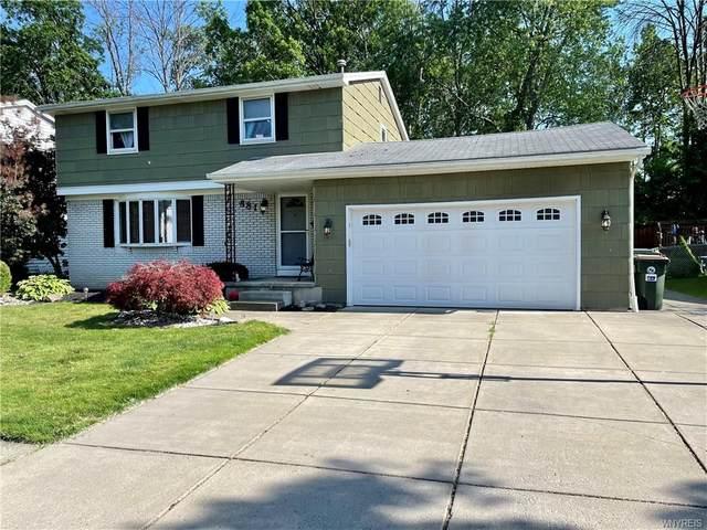 881 Castlebar Drive, North Tonawanda, NY 14120 (MLS #B1343533) :: 716 Realty Group