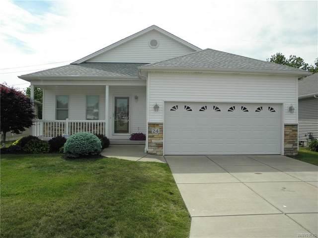 4740 Parker Road 24-L, Hamburg, NY 14075 (MLS #B1343747) :: BridgeView Real Estate Services