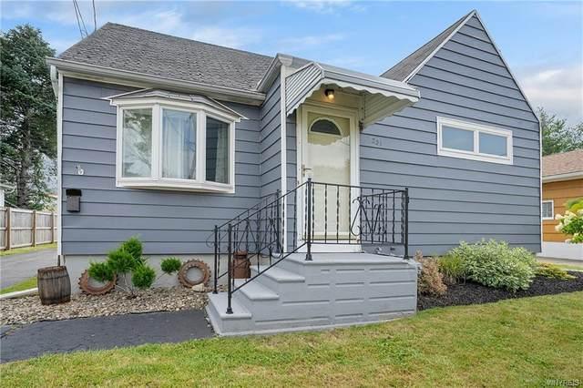 231 Rossler Avenue, Cheektowaga, NY 14206 (MLS #B1355054) :: BridgeView Real Estate Services