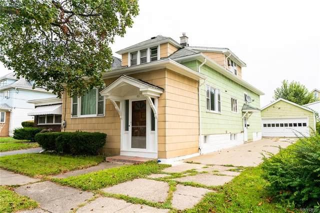 83 Hedwig Avenue, Cheektowaga, NY 14211 (MLS #B1364859) :: Avant Realty