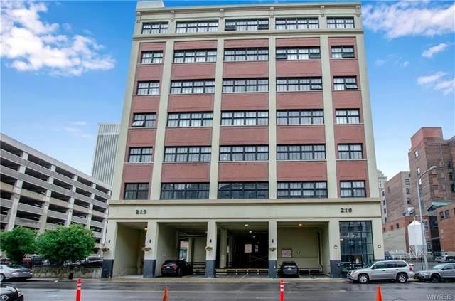 210 Ellicott Street #304, Buffalo, NY 14203 (MLS #B1366475) :: Serota Real Estate LLC