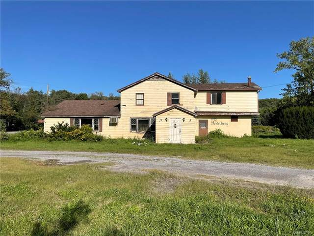 3755 State Route 19  S Road, Warsaw, NY 14569 (MLS #B1366796) :: BridgeView Real Estate