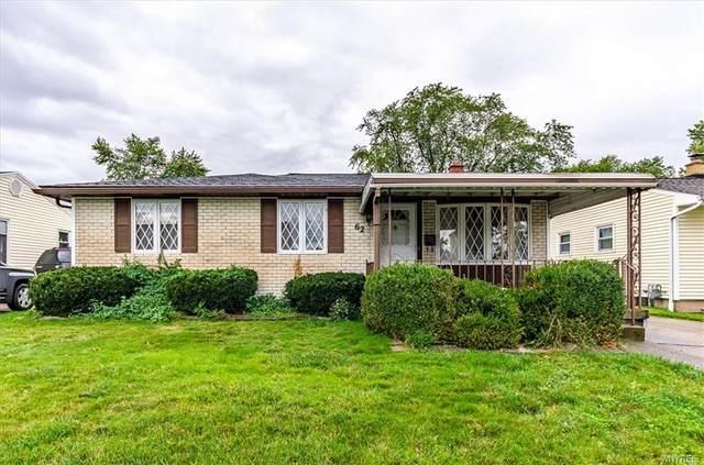 62 Saint Boniface Road, Cheektowaga, NY 14225 (MLS #B1371811) :: Serota Real Estate LLC