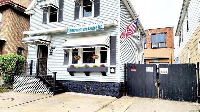 586 E Ferry Street, Buffalo, NY 14211 (MLS #B1374126) :: Serota Real Estate LLC