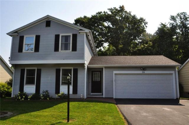 70 Woodsmeadow Lane, Brighton, NY 14623 (MLS #R1070860) :: Robert PiazzaPalotto Sold Team