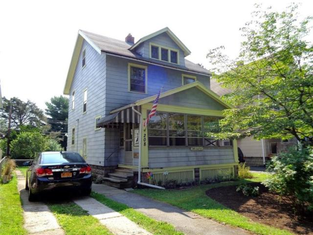 208 Marion Street, Rochester, NY 14610 (MLS #R1070982) :: Robert PiazzaPalotto Sold Team