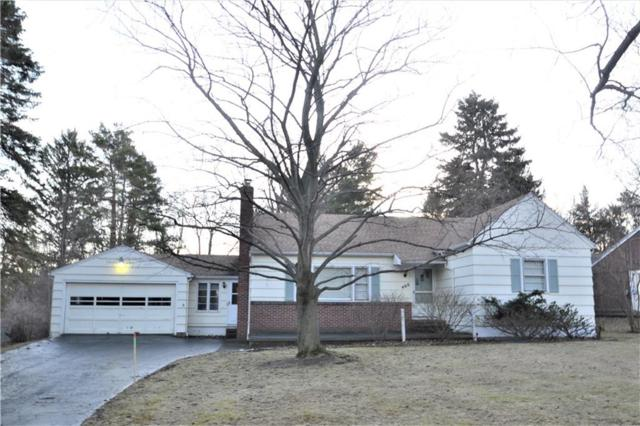 460 Forest Drive, Webster, NY 14580 (MLS #R1099963) :: Robert PiazzaPalotto Sold Team